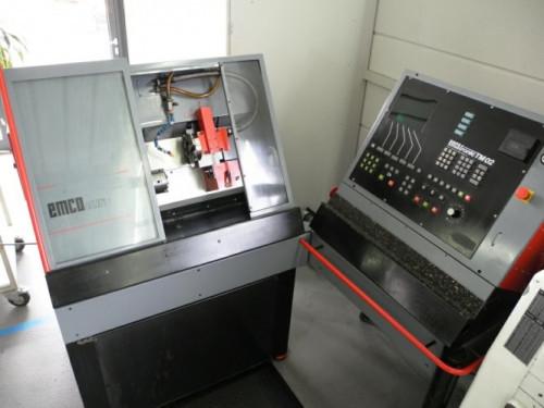cnc drehmaschine emcoturn 34559 gebrauchte drehmaschinen kaufen verkaufen maschinen fromm. Black Bedroom Furniture Sets. Home Design Ideas