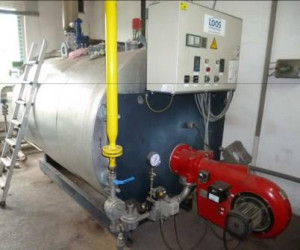 Dampfkessel, Schnelldampferzeuger gebraucht Maschinen Fromm