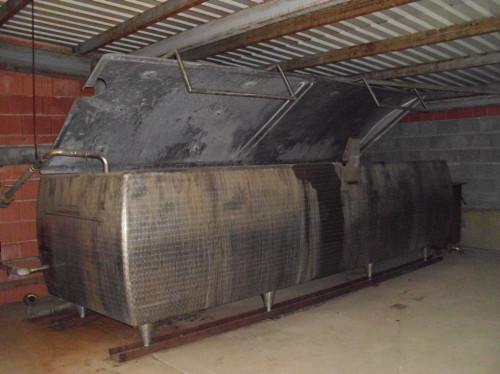 liegender edelstahl beh lter 38151 behaelter tanks. Black Bedroom Furniture Sets. Home Design Ideas